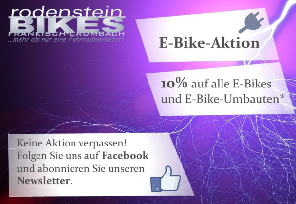 Deckblatt Aktion E-Bike 2016