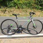 "Focus Arriba Sora Citybike Fitnessbike Crossbike Crosser 28"" S Chromosilver/Fluo Green Neu"
