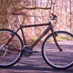 "rodenstein-bikes Custom Citybike Fitnessbike Streetbike Urbanbike 28"" 54cm Braun Neu 2021"